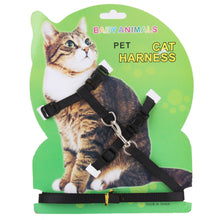 Load image into Gallery viewer, Pet Cat Rabbit Harness   Nylon Outdoor Collar Chest Strap Traction Harness For Cat Pet Supplies