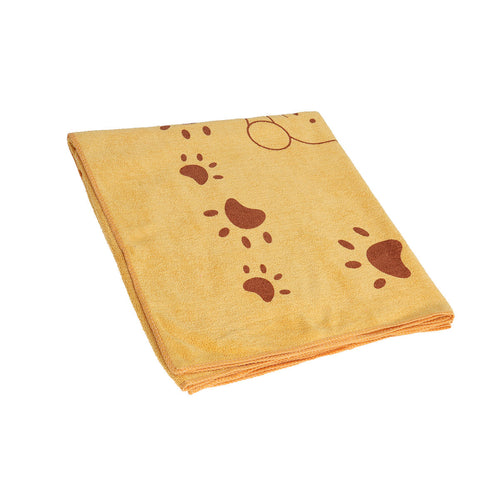 Microfiber Soft Fast-Dry Pet Bath Towel Dry Towel for Pet Dog Puppy Cat Over Size