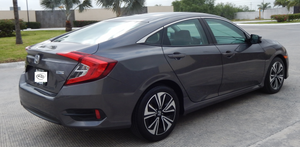 HONDA CIVIC TURBO PLUS 2017 gris