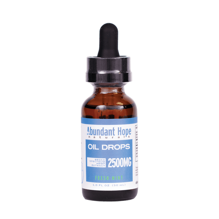 2500mg Broad Spectrum CBD Oil Free Shipping - Abundant Hope Naturals
