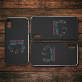 Positive Vibes Only iPhone Case