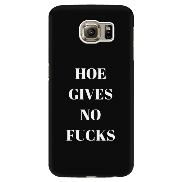 HOEGIVESNOFUCKS Galaxy Phone Case