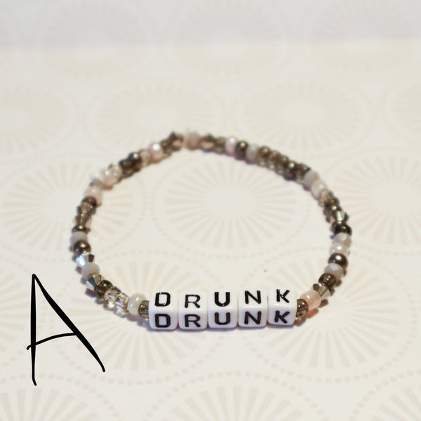 Drunk stretch bracelet