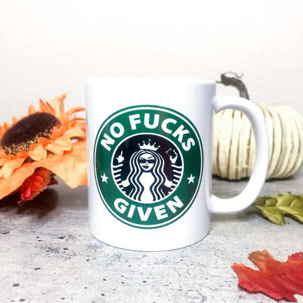 No Fucks Given Mug