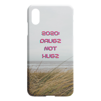 Drugs Not Hugs iPhone Case