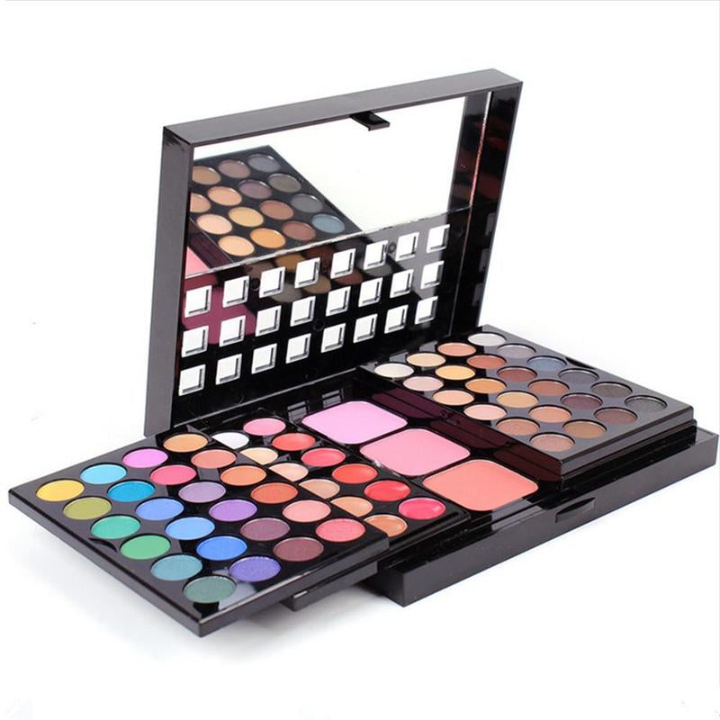 Professional Makeup Eyeshadow Palette Blush Lip Gloss Beauty Cosmetic Set Kit Powder Pigment Contour Pallete Brushes Kits