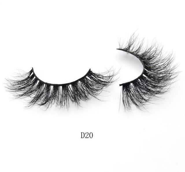Visofree Lashes 3D Mink Eyelashes HandMade False Eyelashes Long lasting False Lashes Full Strip Fake Eyes Lashes Extension Tools