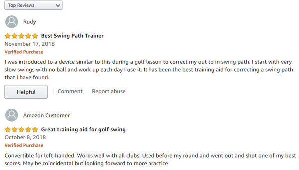 Slot It Golf Swing Trainer Reviews