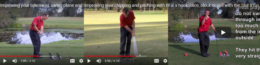 Slot It Golf Swing Trainer Instructional Videos