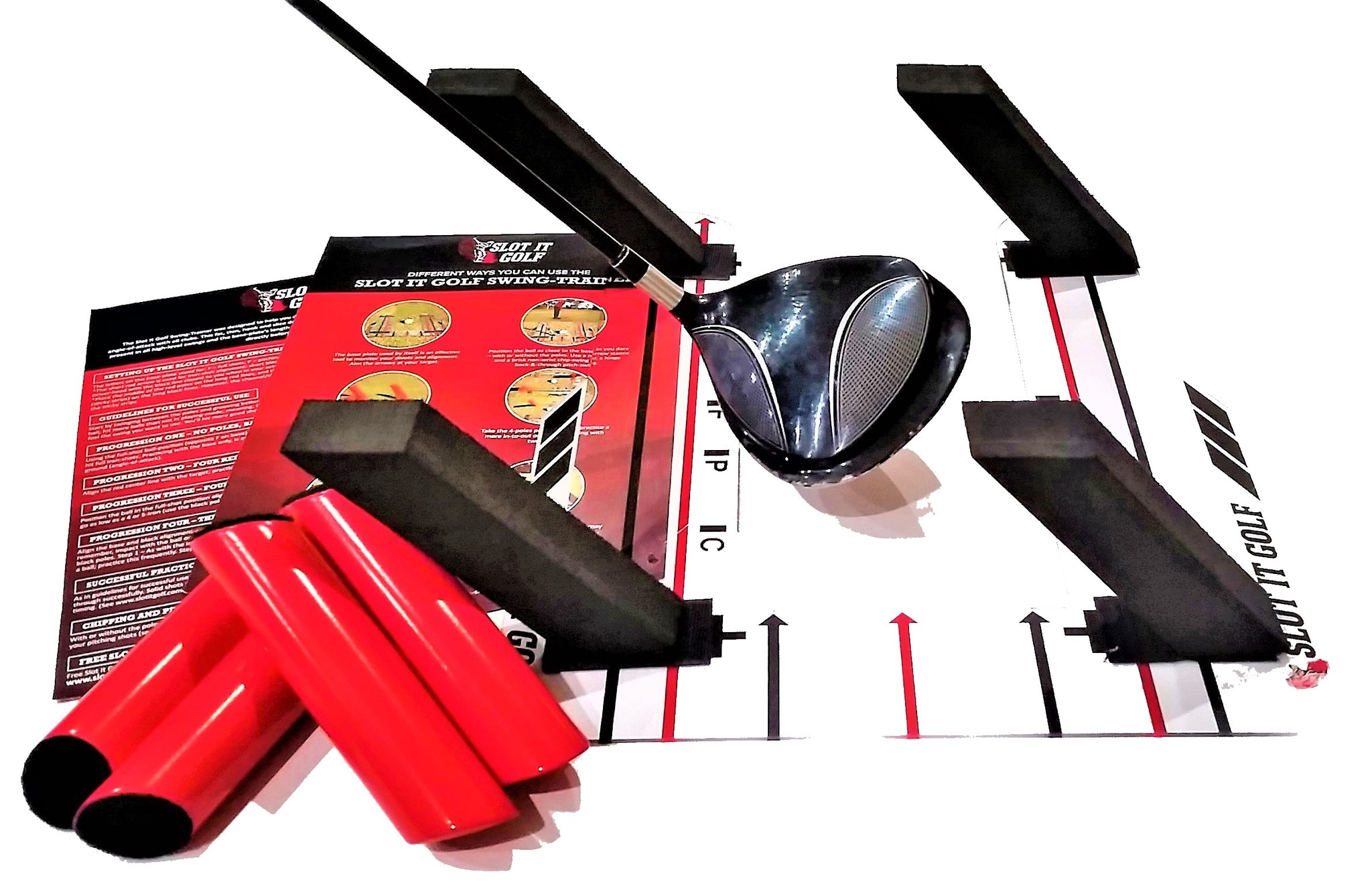 Slot It Golf Swing-Trainer, Stocked in USA for Local & International shipping
