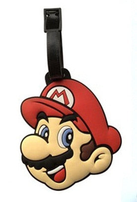8Style Super Mario Creative Silicone Luggage Tag 8Style Super Mario  Creative Silicone Luggage Tag 51d36671d2d9