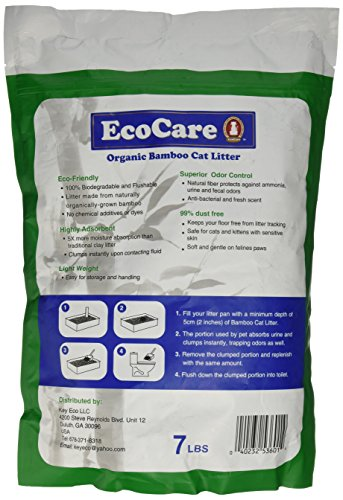 EcoCare Bamboo Cat Litter
