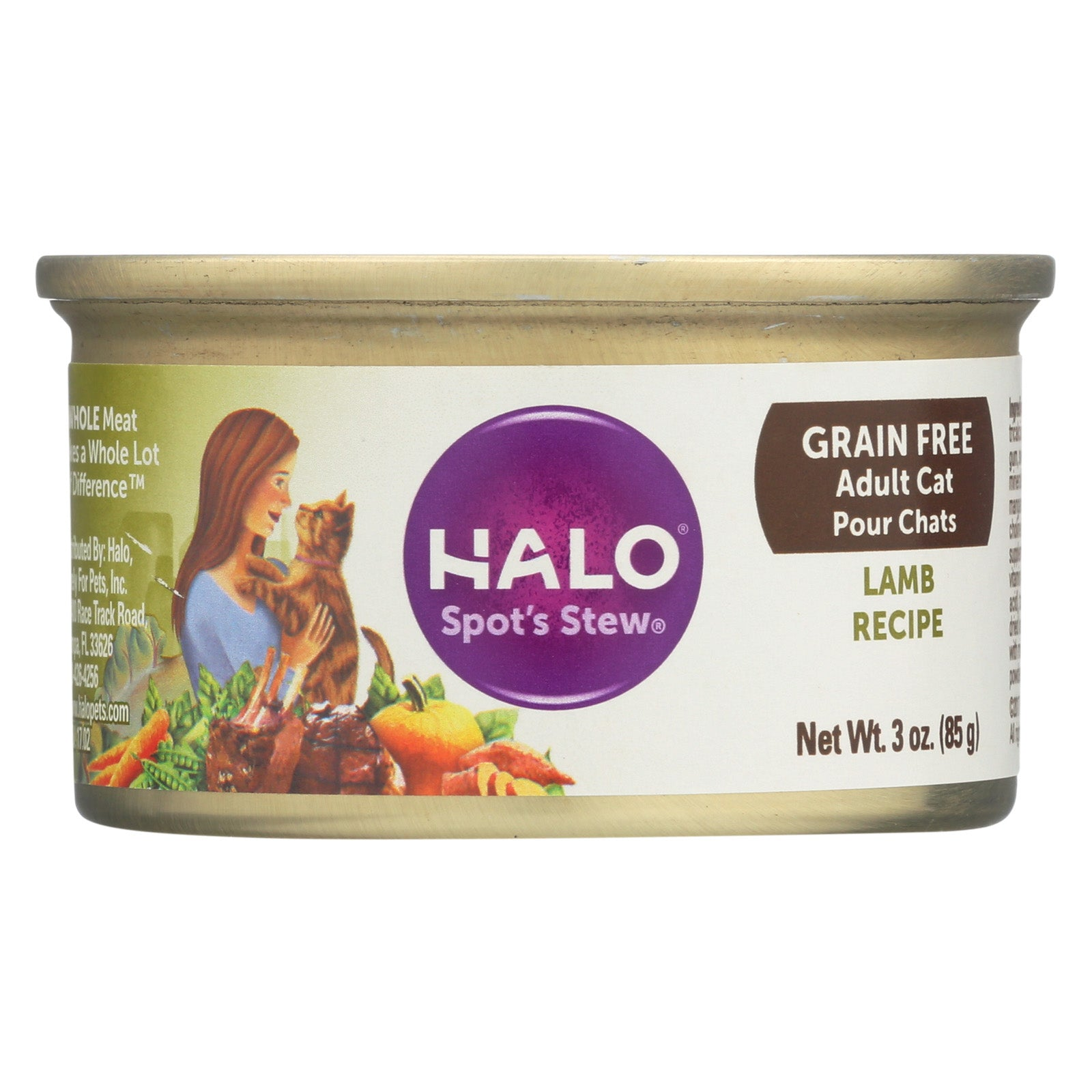 Halo Spot's Stew Lamb - Case Of 12 - 3 Oz