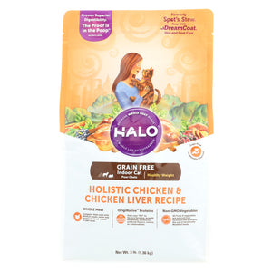 Halo Spot's Stew Grain-Free Holistic Chicken and Chicken Liver - Case Of 6 - 3 Lb.