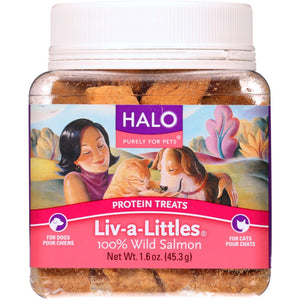 Liv A Littles Salmon Treats - Case of 12