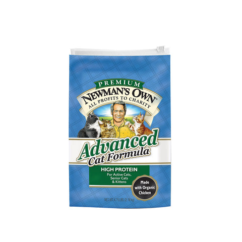 Newman's Own Advanced Cat Formula - Case Of 6 - 4.75