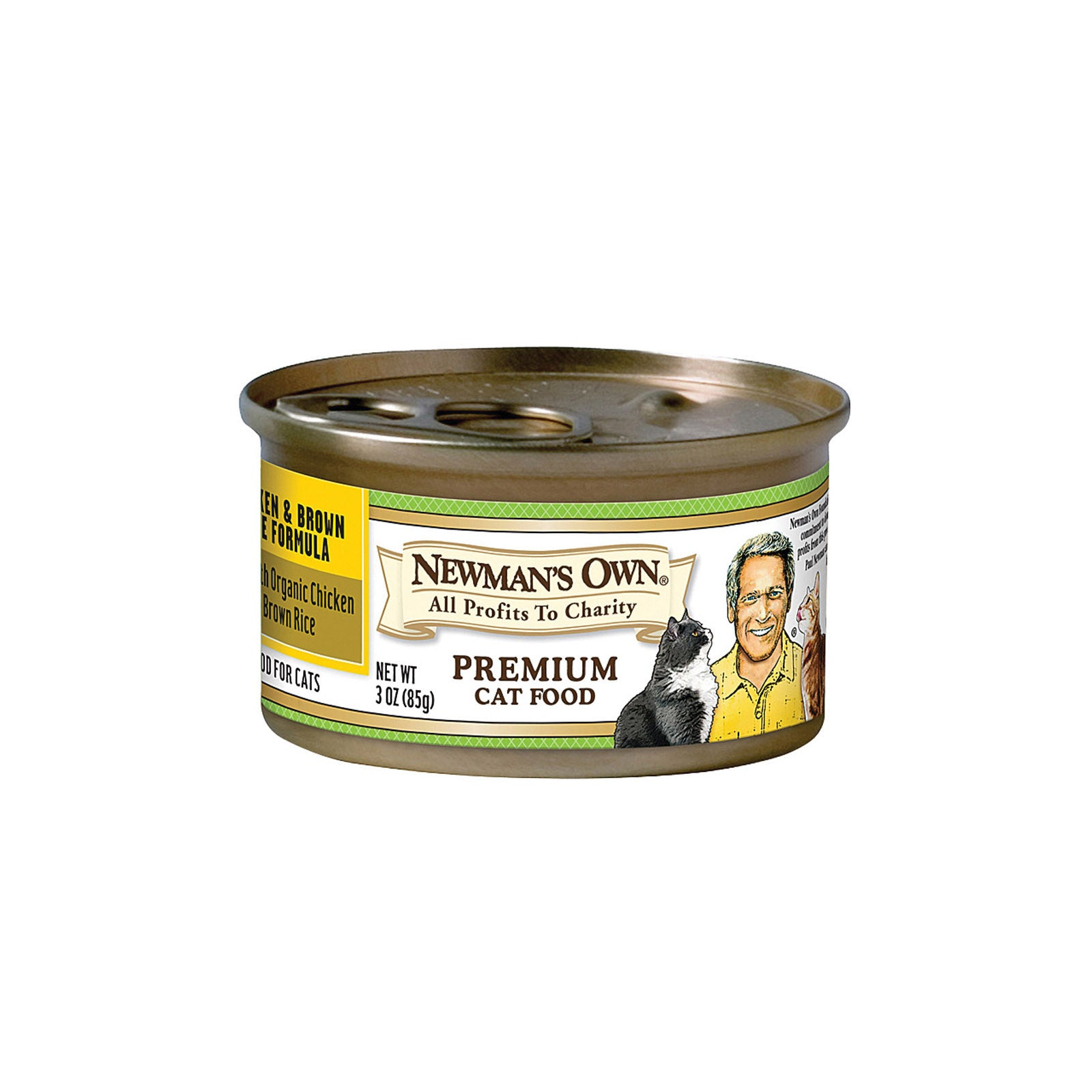 Newman's Own Chicken And Brown Rice - Case Of 24 - 3 Oz.
