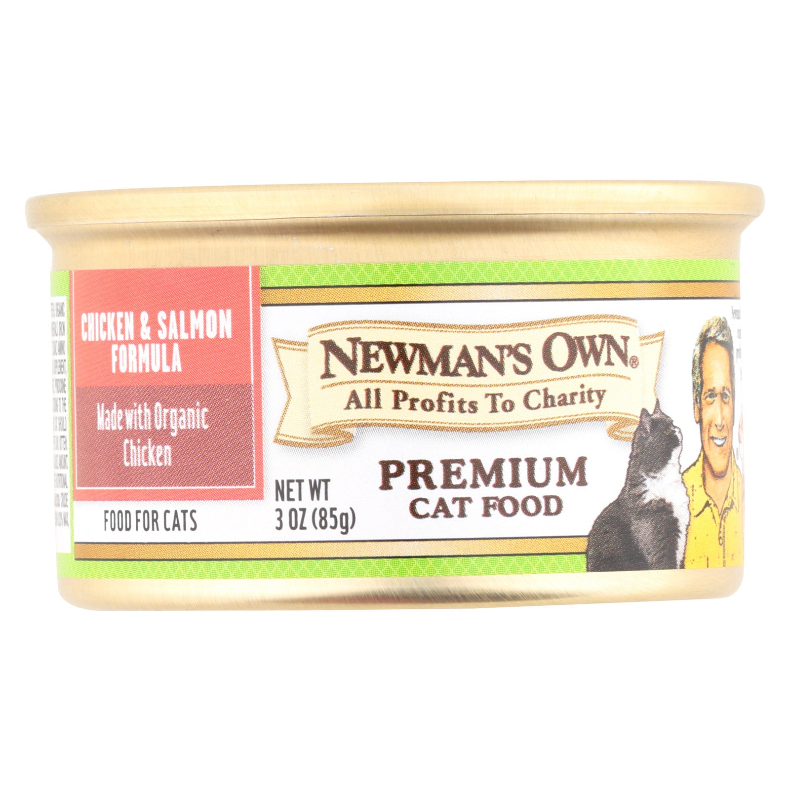 Newman's Own Chicken And Salmon - Case Of 24 - 3 Oz.