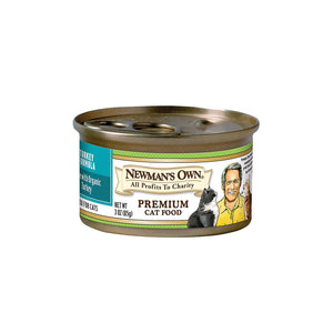 Newman's Own Organic Turkey - Case Of 24 - 3 Oz.