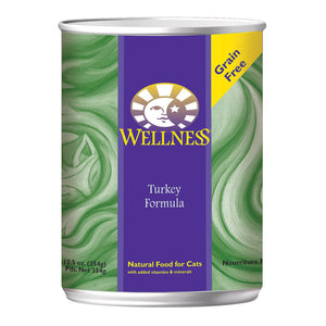 Wellness Turkey Recipe - Case Of 12 - 12.5 Oz.