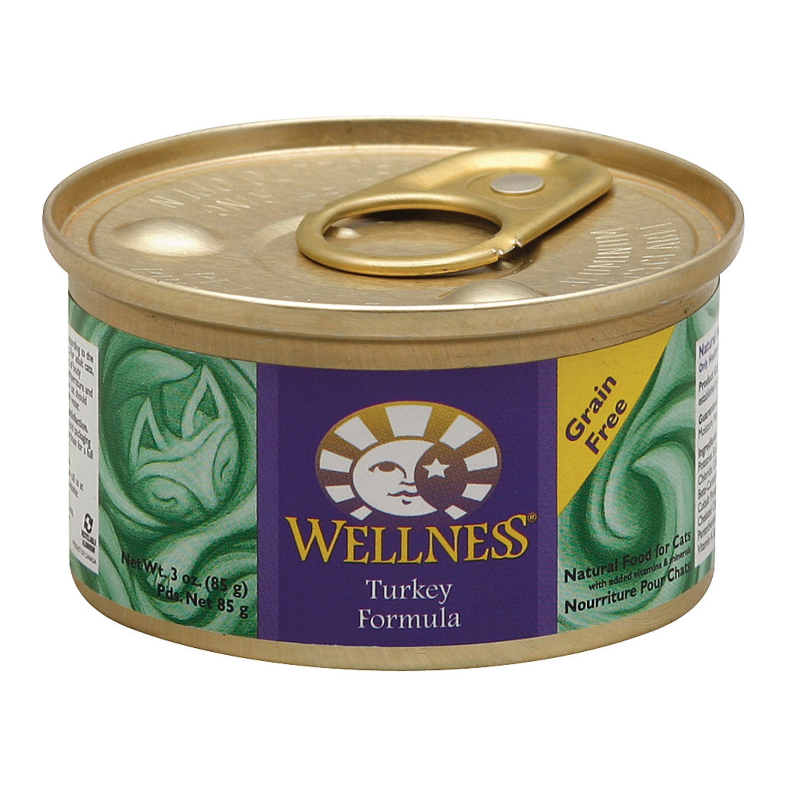 Wellness Turkey Recipe - Case Of 24 - 3 Oz.