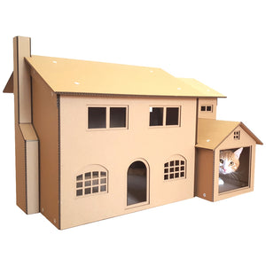 Simpsons Cardboard Cat House