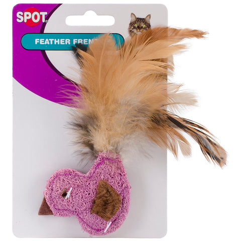 Feather Frenzy Cat Toy with Feathers