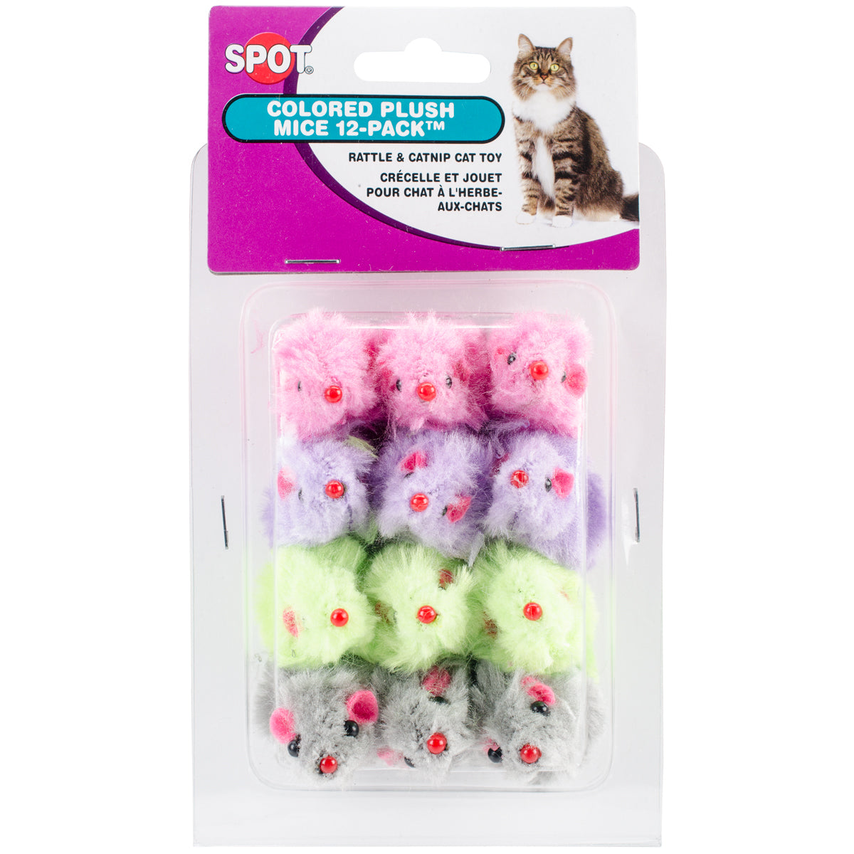 Plush Mice - 12 pack