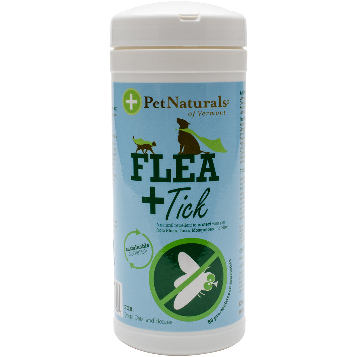 Flea and Tick Wipes