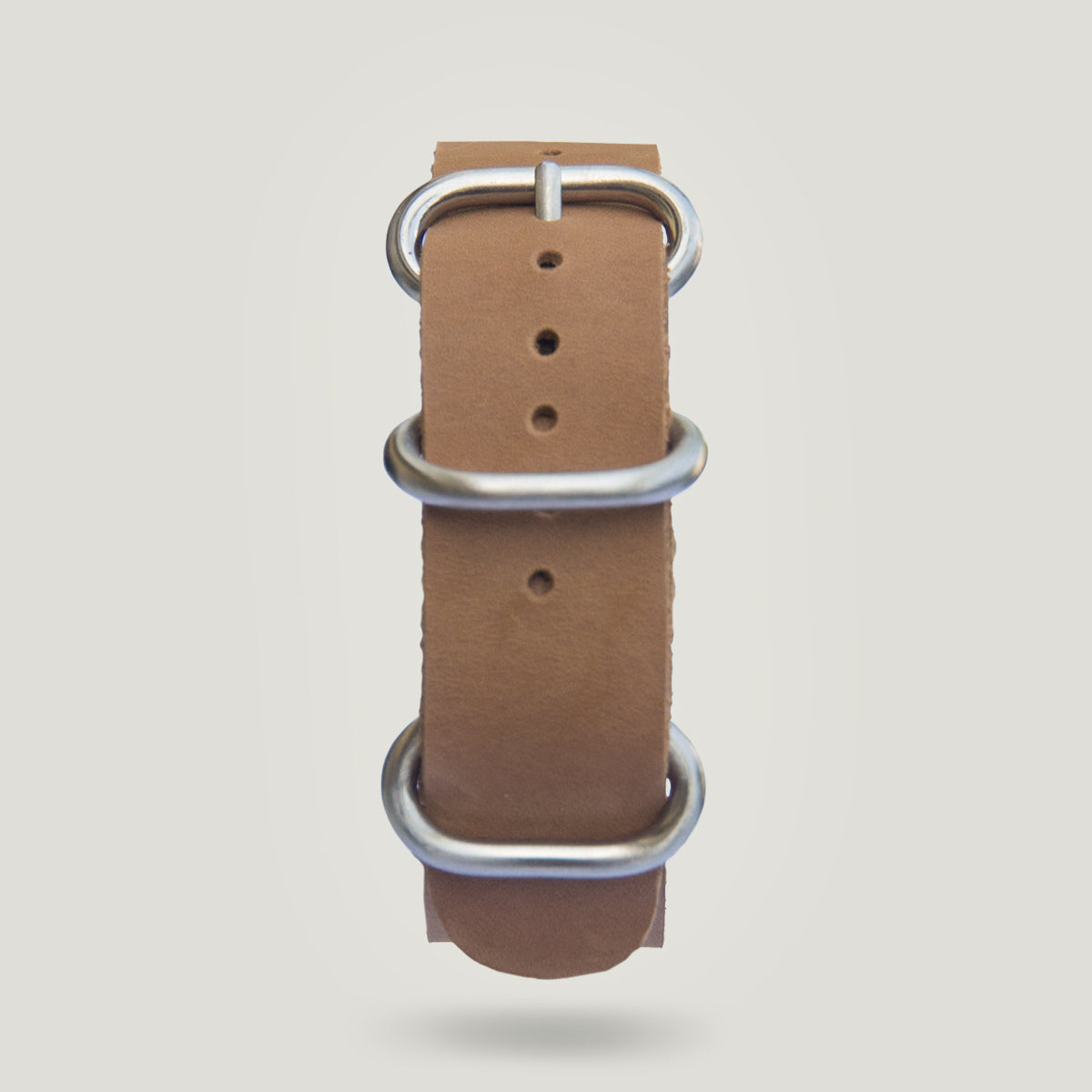 Leather Strap in Light Brown - 20mm