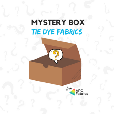 Mystery Box — Tie Dye Fabric Bundle