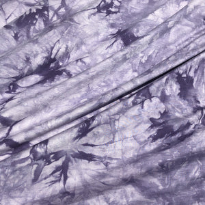 "60"" Bamboo & Spandex Elastane Stretch 5 OZ Tie Dyed Tie Dye Cloud Apparel and Face Mask Knit Fabric By the Yard"