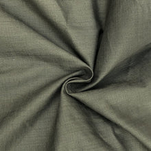 Load image into Gallery viewer, 48 Cotton & Spandex Lycra Stretch Blend Army Green Woven Fabric By the Yard - Fabric