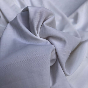 "54"" Solid White Nylon Spandex Lycra Stretch Blend Jersey Knit Fabric By the Yard - APC Fabrics"