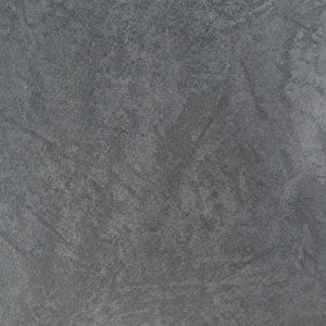 "55"" Dark Gray Vinyl Faux Pleather Upholstery Modern Heavy Fabric By the Yard - APC Fabrics"