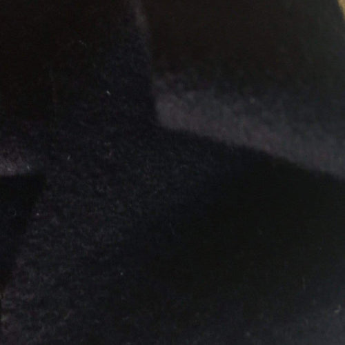 56 Dark Blue Almost Black 100% Pure Felt Wool Heavy Weight Woven Fabric By the Half Yard