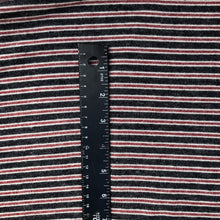 Load image into Gallery viewer, 56 Rayon Spandex Lycra Stretch Blend Striped Print Hatchi Brushed Knit Fabric By the Yard - Fabric