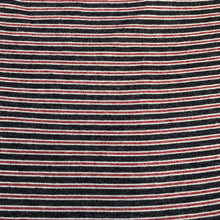 "Load image into Gallery viewer, 56"" Rayon Spandex Stretch Blend Striped Print Hatchi Brushed Knit Fabric By Yard - APC Fabrics"
