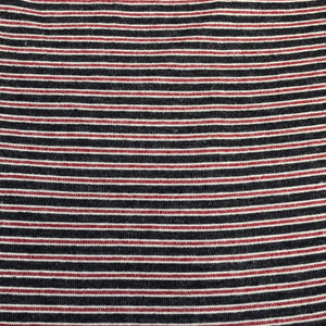 56 Rayon Spandex Lycra Stretch Blend Striped Print Hatchi Brushed Knit Fabric By the Yard - Fabric