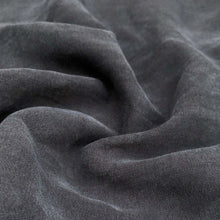 "Load image into Gallery viewer, 58"" 100% Lyocell Tencel Gabardine Twill Dark Blue Woven Fabric By the Yard - APC Fabrics"