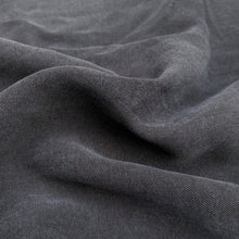 Load image into Gallery viewer, 58 100% Lyocell Tencel Gabardine Twill Dark Blue Woven Fabric By the Yard - Fabric