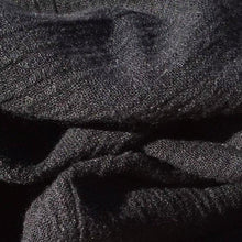 "Load image into Gallery viewer, 58"" Black 100% Lyocell Tencel Crepon Gauze Light Woven Fabric By the Yard - APC Fabrics"