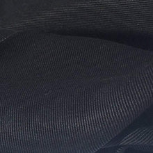 Load image into Gallery viewer, 58 Black 100% Lyocell Tencel Gabardine Twill Bull Denim Woven Fabric By Yard