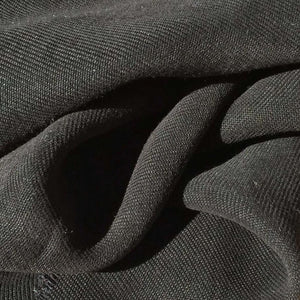 "58"" Black 100% Lyocell Tencel Gabardine Twill Enzyme Washed Woven Fabric By Yard - APC Fabrics"