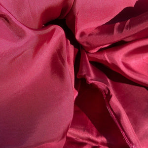 58 Burgundy Maroon Red 100% Acetate Shiny Glossy Lining Woven Fabric By the Yard