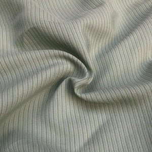 58 Cotton & Tencel Lyocell Blend Striped Multicolor Light Woven Fabric By the Yard - Fabric