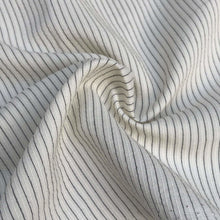 "Load image into Gallery viewer, 58"" Cotton & Tencel Lyocell Blend Striped Multicolor Light Woven Fabric By the Yard - APC Fabrics"