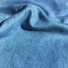 Load image into Gallery viewer, 58 Denim Blue Cotton Blend Heavy Woven Fabric By the Yard
