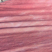 Load image into Gallery viewer, 58 Maroon Burgundy Tie Dye Modal Spandex Lycra Stretch Jersey Knit Fabric By the Yard