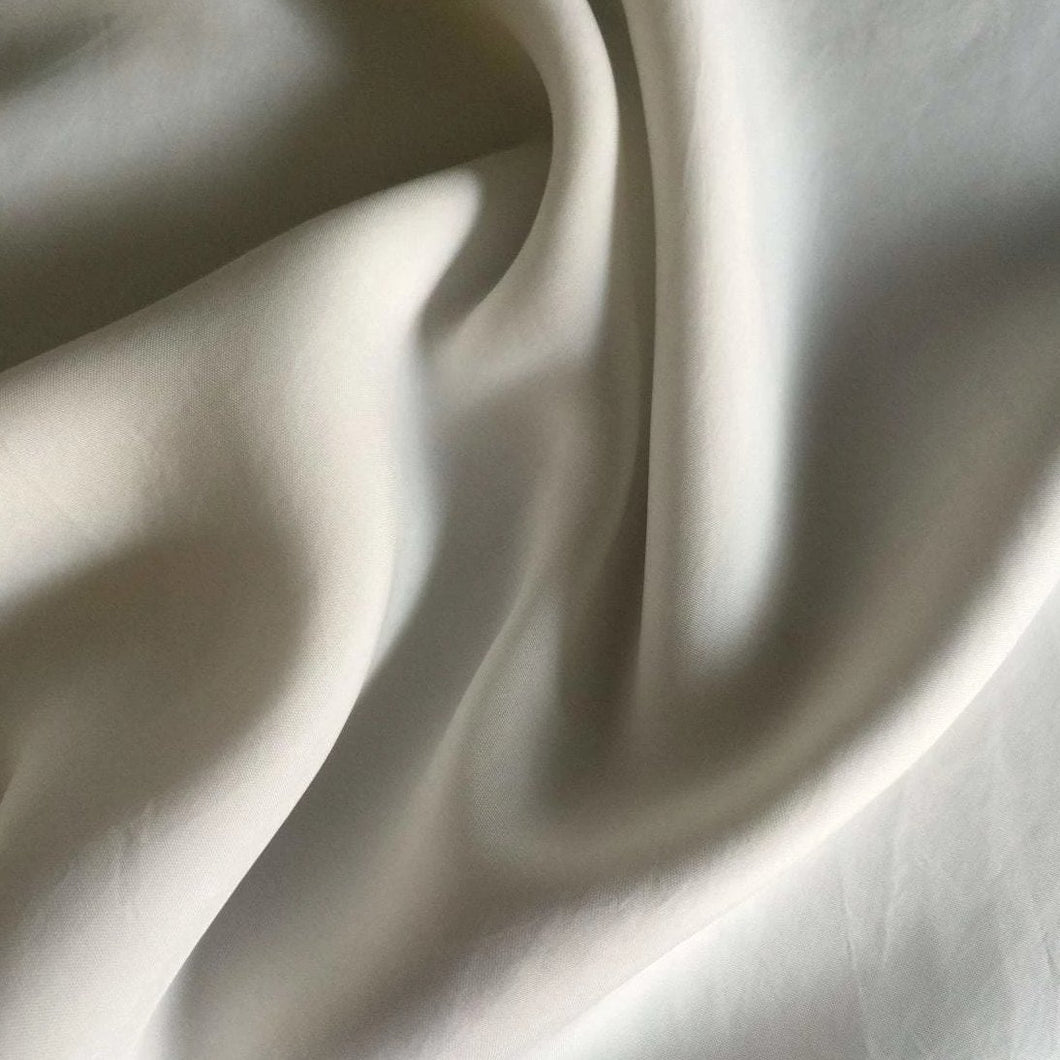 58 Off White Enzyme Washed Rayon Viscose Bemberg Light Woven Fabric By Yard